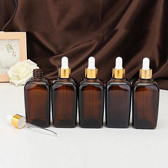 50ml Amber dropper bottle